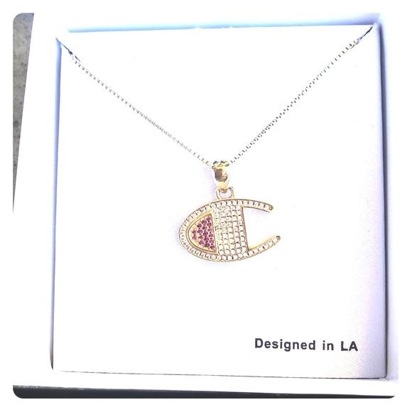 3117c07ba552f King Ice Champion Jewelry | Champion Heritage C Gold Pendant ...